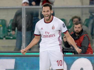 Hakan Calhanoglu hat dem AC Mailand einen Punkt gerettet