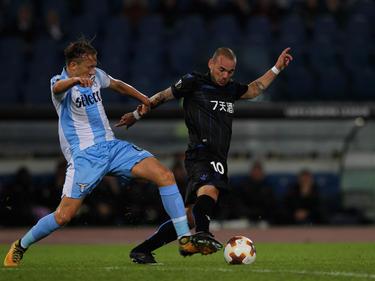 Wesley Sneijder está exprimiendo sus últimos años de fútbol en ligas exóticas. (Foto: Getty)