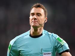 Felix Zwayer gilt als Kandidat für den Video-Schiedsrichter-Posten in Russland