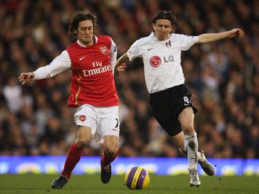 Alexey Smertin (r.) spielte unter anderem für Fulham