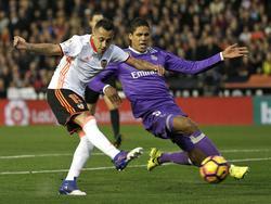 Valencia setzte sich gegen den Spitzenreiter überraschend durch