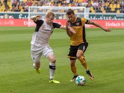 Sandhausen dominierte Dynamo in Dresden