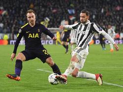 Juve und Tottenham spielten Remis