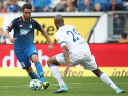 Stürmt Mark Uth (li.) bald für statt gegen Schalke?
