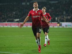 Niclas Füllkrug erzielte seinen ersten Bundesliga-Hattrick