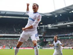 Leon Goretzka schoss den FC Schalke zum Sieg in Bremen