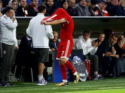 Franck Ribéry war nicht glücklich über seine Auswechslung