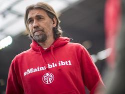 Martin Schmidt steht mit seinen Mainzern vor einer schwierigen Aufgabe