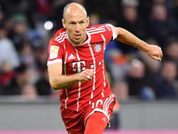 Arjen Robben spielt seit 2009 für die Bayern