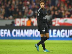 Neymar fällt bis mindestens Mitte Mai aus