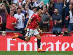 Alexis Sánchez erzielte den verdienten Ausgleich für die Red Devils gegen Tottenham