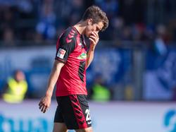 Marc Oliver Kempf zog sich gegen Mainz einen Muskelfaserriss zu