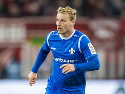 Darmstadts Fabian Holland sorgte mit einer Schwalbe für Aufsehen