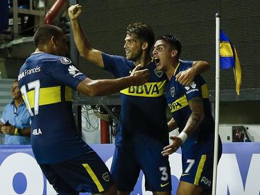 Cristián Pavón marcó el único gol de Boca. (Foto: Getty)