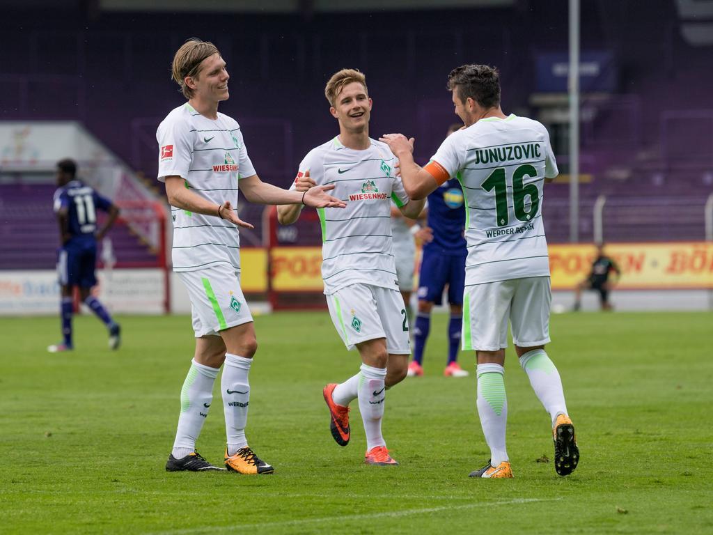 Der SV Werder hat sein Testspiel gegen Osnabrück gewonnen