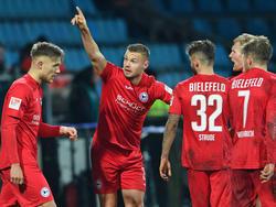 Florian Hartherz erzielte mit seinem Kunstschuss den einzigen Treffer des Tages