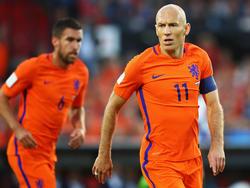 Arjen Robben droht das vorzeitige WM-Aus
