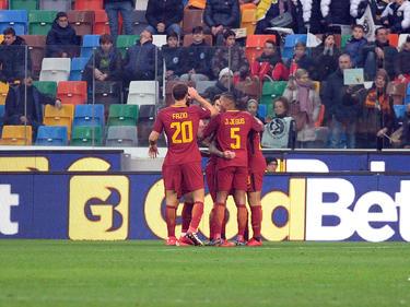 Con este triunfo la Roma es tercera en la tabla con 50 puntos. (Foto: Getty)