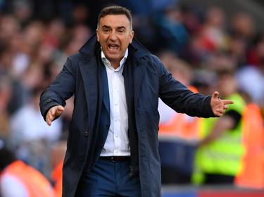 Ist nicht mehrTrainer von Swansea City: Carlos Carvalhal