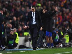 Unai Emery no quiere vivir otra experiencia como la del Camp Nou. (Foto: Getty)