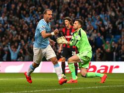 Manchester City fixierte gegen West Bromwich den Pflichtsieg