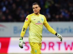 Werder-Keeper Raphael Wolf konnte zufrieden sein