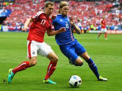 Florian Klein - hier im EM-Spiel gegen Island