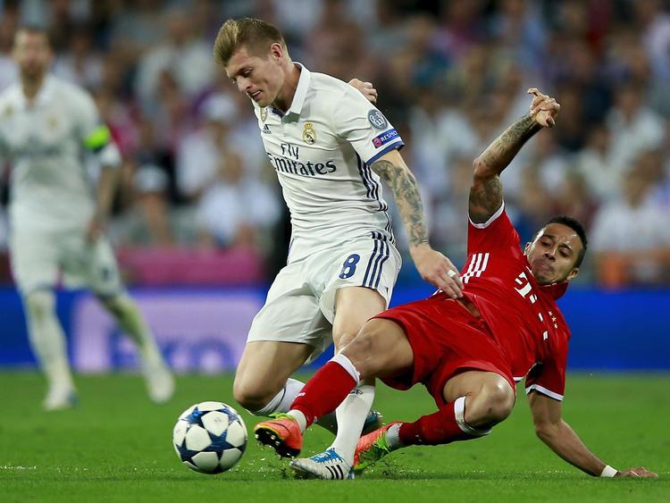 Toni Kroos trifft mit Real Madrid im CL-Halbfinale auf den FC Bayern