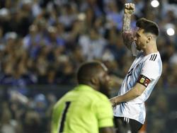 Messi lideró la goleada contra la modestra Haití. (Foto: Getty)