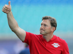 Ralph Hasenhüttl stand zwei Jahre lang bei RB Leipzig an der Seitenlinie