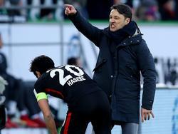 Niko Kovac kann mit dem Auftritt seiner Mannschaft in Wolfsburg zufrieden sein