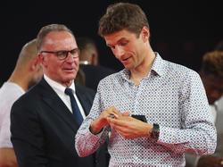 Thomas Müller musste deutliche Kritik von Karl-Heinz Rummenigge einstecken