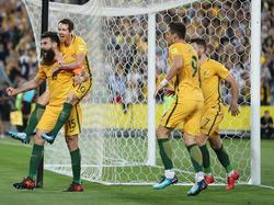 Grenzenloser Jubel: Australien fährt zur WM