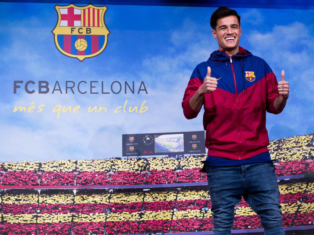 Coutinho wechselte für rund 160 Millionen Euro zum FC Barcelona