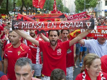 Die Demos der Fans von Real Murcia haben nichts genützt