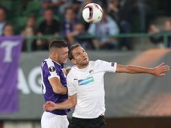 Patrizio Stronati hatte bei seinem Comeback großen Anteil daran, dass die Austria wieder zu Null spielte