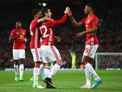 Manchester United hat sich ins Halbfinale der Europa League gezittert