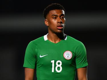 Alex Iwobi hizo el único tanto del encuentro para los nigerianos. (Foto: Getty)