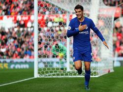 Morata marcó contra el Stoke City este fin de semana. (Foto: Getty)