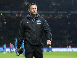 Hertha-Trainer Pál Dárdai war enttäuscht vom Europa-League-Aus