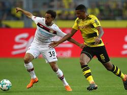 Manuel Akanji zeigte gegen Bayer Leverkusen eine bärenstarke Partie