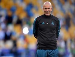 Zinédine Zidane sprach über seinen Trainerkollegen Jürgen Klopp
