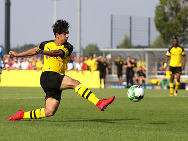 Immanuel Pherai zählte im Meisterschafts-Finale zu den Matchwinnern der U17 des BVB