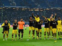 Borussia Dortmund ist nach dem Sieg in Hamburg Tabellenführer
