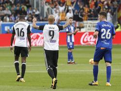 Zaza marcó su noveno gol de la temporada en Vitoria. (Foto: Imago)