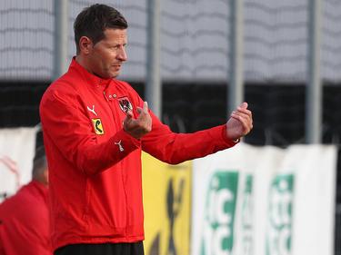 U18-Teamchef Andreas Heraf kann zufrieden auf die Partien gegen die Ukraine zurückblicken