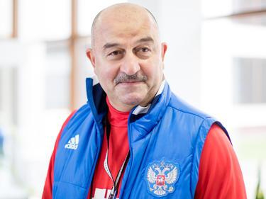 Stanislav Cherchesov, head coach of Russia