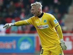 Sascha Burchert zeigte gegen Arminia Bielefeld eine starke Partie