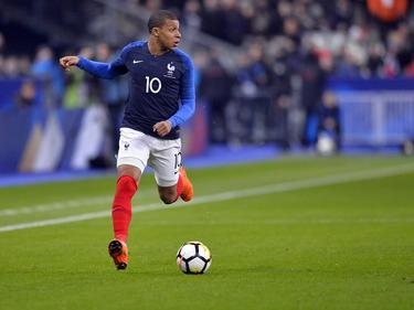 Kylian Mbappé wirkte auf Seiten der Franzosen mit