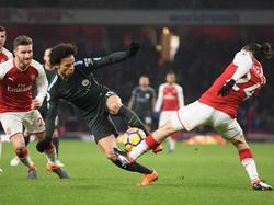Leroy Sané zeigte eine starke Leistung gegen Arsenal